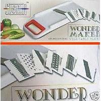 Wonder Maker 6 In 1 Vegetable Slicer