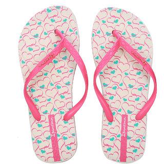 Ipanema-Women-Beige-Pink-Blue-Flip Flop (25494-23415-US10-BEIGE-PINK-BLUE)