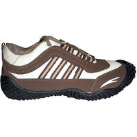 Alex Brown Cream Sports Cool Air Brown And Running Shoes