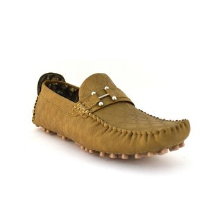 Zoot24 Men Tan Loafers And Moccasins (-7707-CHEEKU)