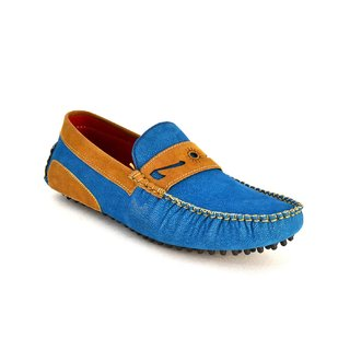 Zoot24 Men Blue Loafers And Moccasins (JV205-BLUETAN)