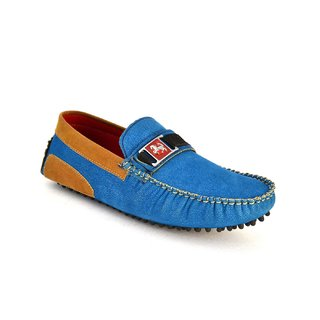 Zoot24 Men Blue Loafers And Moccasins (JV206-BLUETAN)