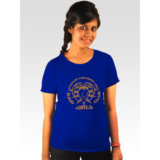 Incynk Women's Bad Girls Club Tee (Blue)