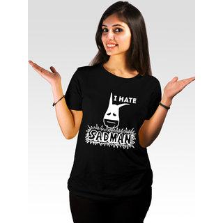 Incynk Women's Hate Sadman Tee (Black)