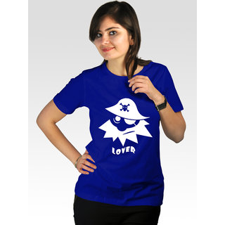 Incynk Women's Pirate Lover Tee (Blue)