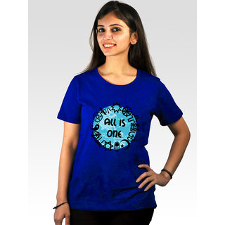 Incynk Women's All Is One Tee (Blue)