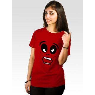 Incynk Women's Madface Tee (Red)