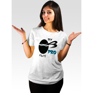 Incynk Women's Pro-Face Tee (White)