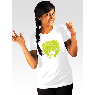 Incynk Women's Stormed Tee (White)