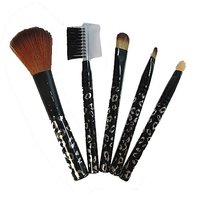 CR Mks 5 Pieces Make Up Brush Cosmetic Set Kit Professional Multi Functional Product