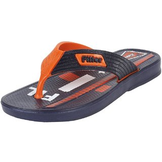 Earton Mens Blue Flip-Flops  House Slippers