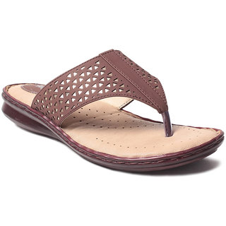 Msc WomenS-Brown-Synthetic-Flats (MSC-21-7425-FLATS-BROWN)