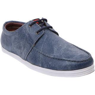 Provogue Mens Blue Casual  Lace-up Shoes (PV1412BLUE)