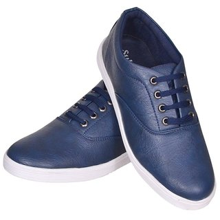 Sukun Blue Casual Shoe For Men