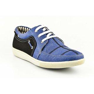 Provogue Mens Blue Casual  Lace-up Shoes (PV1076BLUEBLACK)