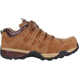 Nexq Outdoor Shoes Original Leather Color Tan