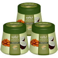 Trichup Healthy Long  Strong Herbal Hair Cream (200 Ml) (Pack Of 3)