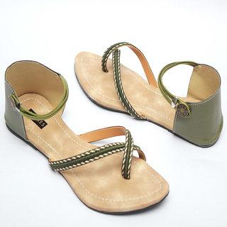 Azores Women's Green Sandal