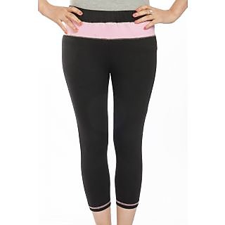 TSG BREEZE WOMEN'S CAPRI_AN-LC-A001 Design_Black/Pink Colour