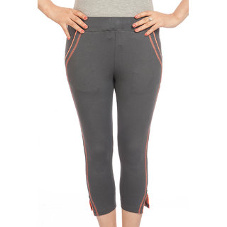 TSG BREEZE WOMEN'S CAPRI_AN-LC-A01​5 Design_Charcoal Grey
