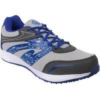 Allen Cooper Men Grey Lace-up Sport Shoes
