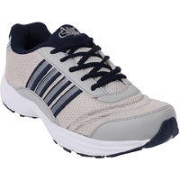 Allen Cooper Men Grey And Navy Lace-up Sport Shoes - 90442613