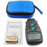 4-Pin MD-4G Digital LCD Wood Damp Moisture Meter Detector Tester Timber Sensor