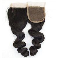Human Hair Weaves Lace Top Closure