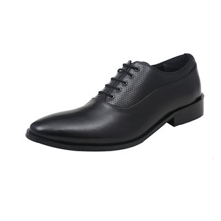 Harper Woods Pure Leather - Black Lace Up