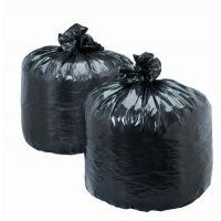 120 Pcs Disposable Garbage Trash Waste Dustbin Bags (20 X 26 Inch) 40 Micron