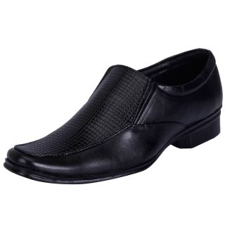 FAUSTO Black Mens Formal Loafers - 90780941