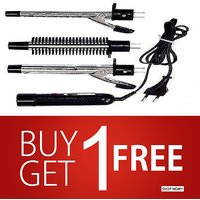 Buy 1 Get 1 Free INTERCHANGEABLE CURLING IRON BRUSH STYLER 3 IN 1 SET CASSIO HB