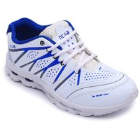 Nexa Men's White And Blue Running Sports Shoes