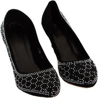 Rialto WomenS Black Peep Toe Heel Sandals (RL-MP23-Blk)