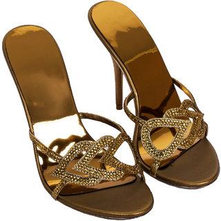 Rialto WomenS Brown Peep Toe Heel Sandals (RL-MP29-Br)