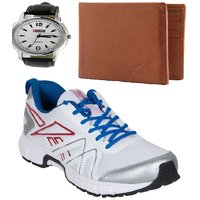 REEBOK SPORTS SHOE WITH LOTTO WATCH AND WALLET AR2535