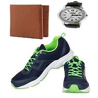 REEBOK SPORTS SHOE WITH LOTTO WATCH AND WALLET AR2537