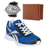 REEBOK SPORTS SHOE WITH LOTTO WATCH AND WALLET AR2540