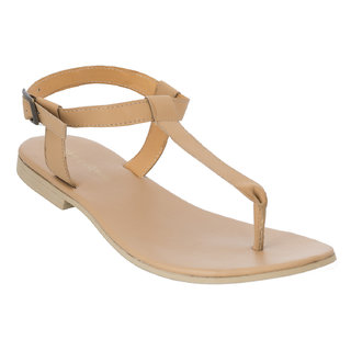 Advin England Tan Floater Sandal (3809)