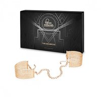 Bijoux Indiscrets The Magnifique Handcuffs - Metallic  Chain Handcuffs