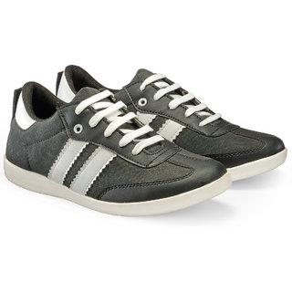 Juandavid MenS Black Slip On Sneakers Shoes (9014 Black)