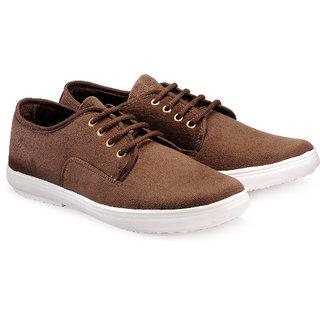 Juandavid MenS Brown Slip On Sneakers Shoes (913 Brown)