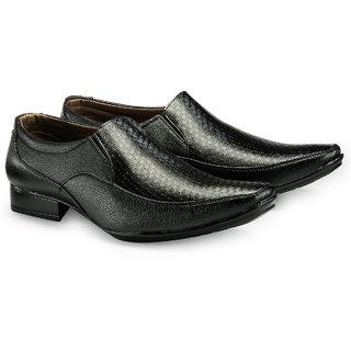 Juandavid MenS Black Formal Slip On Shoes (98 Black)