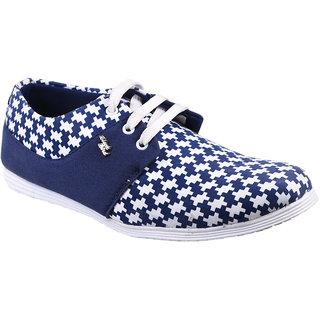 Cool River Men Blue Casual Lace-Up Shoes (2780)