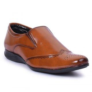 Jovelyn Brown Slip On Formal Shoes J7003