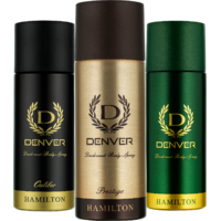 Denver Hamilton, Prestige And Caliber Deo Combo (Pack Of 3)