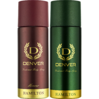 Denver Hamilton And Honour Deo Combo (Pack Of 2)