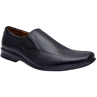 Enzo Cardini Mens Black Formal Shoes