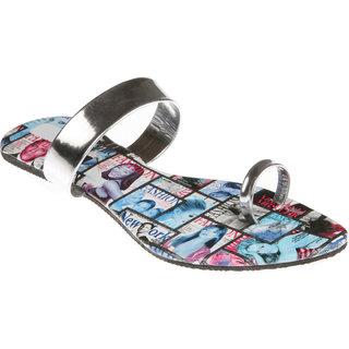 Zachho Women Blue Flip Flops (HC65-BLUE)