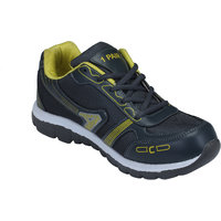 1 Pair Men Grey,Yellow Lace-Up Sport Shoes (K2M007GRYYL)